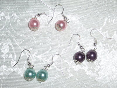 orecchini di perla