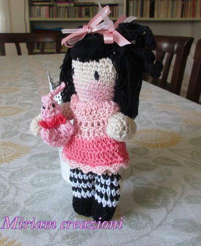 Bambolina amigurumi style gorjuss