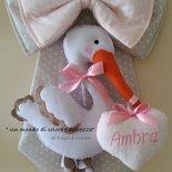FIOCCO NASCITA : la dolcissima cicogna di AMBRA