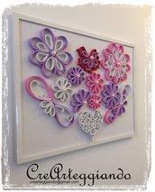 Quadro a vista: i fiori del cuore
