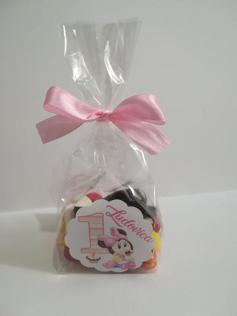 Segnaposto Matrimonio Marshmallow.Busta Bustina Contenitore Marshmallow Caramelle Confetti