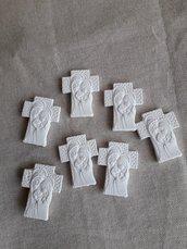 Gessetto profumato croce,prima comunione,cresima ,battesimo