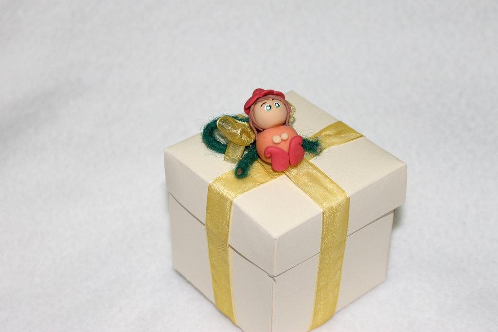 bomboniera scatola gnometto