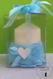 Set 20 bomboniere candela- Battesimo