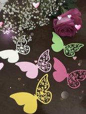 Segnaposto a farfalla