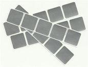 Gratta e vinci/Scratch Off stickers colore argento so1