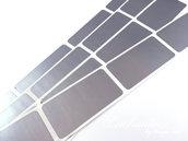 Gratta e vinci/Scratch Off stickers colore argento so4