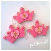 Biscotti decorati a tema principessa