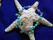 bracciale stella turchese