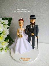 Cake topper personalizzati realistici