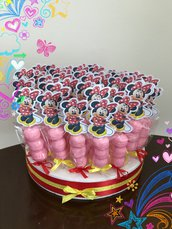 Spiedini di marshmallows minnie