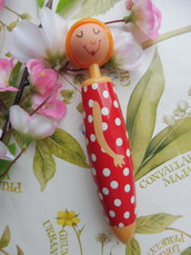 Penna a sfera little girl chuncky pn104