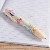 Penna a sfera multicolore pn108