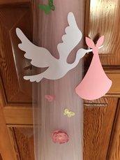 Cicogna decorativa nascita