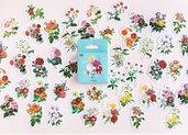 Stickers fantasia di fiori st278