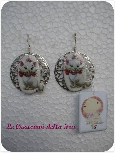 """Orecchini Aristogatti """"Minou"""" (1)"""