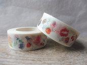 Washi tape con decorazioni wt152