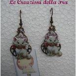 """Orecchini """"Minou"""" Aristogatti"""