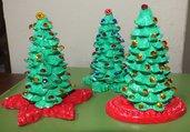 alberini segnaposto Natale