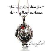 Collana ciondolo elena gilbert the vampire diaries verbena salvatore