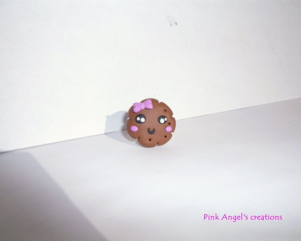 Anello biscottino kawaii