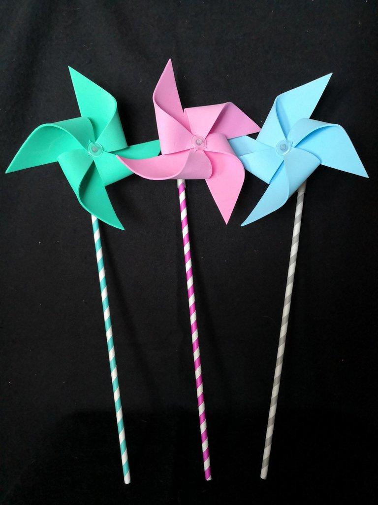 Girandole colorate in vari materiali