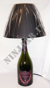Lampada Bottiglia vuota Dom Perignon Rosè Luminous
