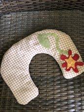 Cuscino terapeutico cervicale con noccioli di ciliegia Attive