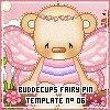 Sitio Web Buddecups Fairy -Pink