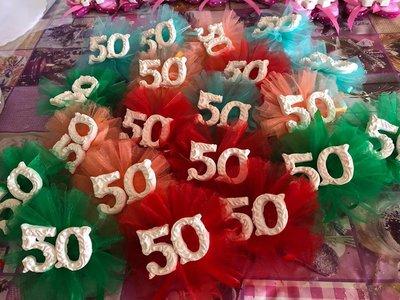 Bomboniera Compleanno 50 Anni Feste Bomboniere Di Le Creazion