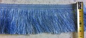 Bordura Frangia color Azzurro - 1 metro -