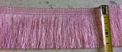 Bordura Frangia color Rosa - 1 metro -