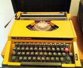 Macchina da scrivere Rover 3000 vintage