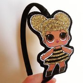 Cerchietto per capelli Lol Surprise Queen Bee
