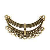 Connettore colore bronzo  46 x 29 mm per decorazioni Accessori bigiotteria, orecchini, bracciali