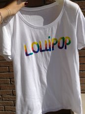 T-shirt 100% cotone 'LOLLIPOP'