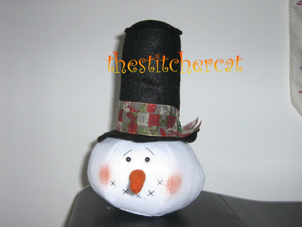 Testa di pupazzo di neve-Snowman head