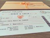 PARTECIPAZIONI MATRIMONIO TravelChic