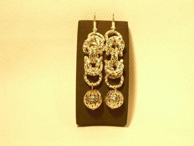 orecchini maglia bizantina