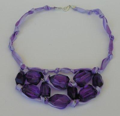 collana girocollo viola