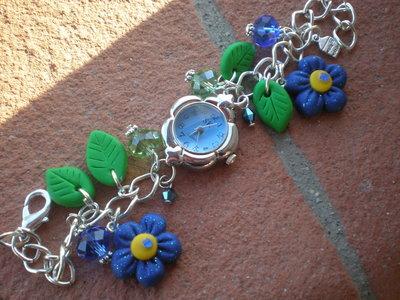 Orologio in fiore