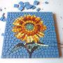 GIRASOLE Kit mosaico fai da te