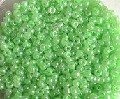 15 grammi PERLINE INDIANE VERDI PE3