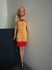 vestito per barbie