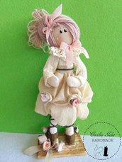 Bambola Lucia -di stoffa