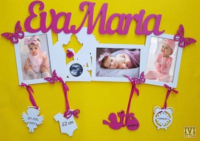 Portafoto per il tuo bebe personalizzata
