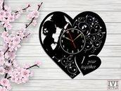 Orologio a forma di cuore personalizzabile