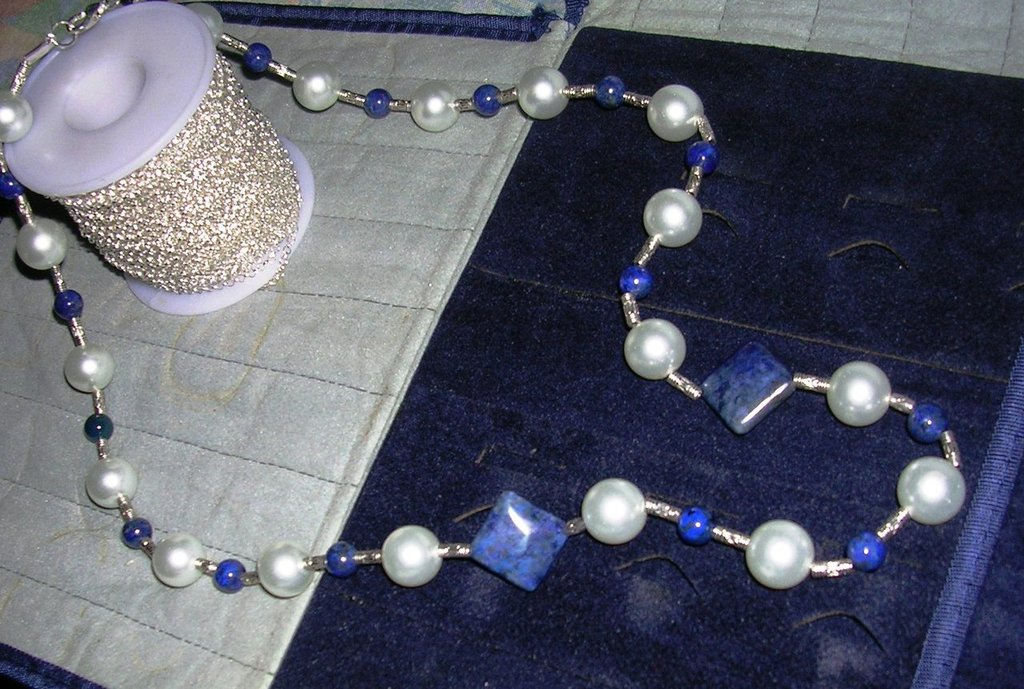 Lapislazzuli necklace