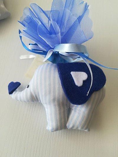 Bomboniera elefantino per neonato