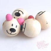 Perla motivazionale *Orso orecchie rosa*